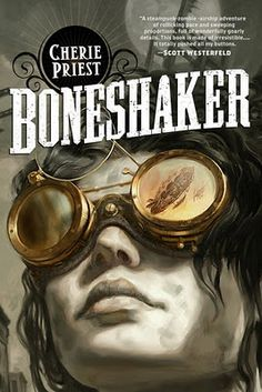 First off, there is much to love about this book that one wonders how I could dislike it. There are zombies and alternate history and steampunk and a cast of cool characters doing cool things like killing zombies and building overly elaborate gold-digging machines called Boneshaker. There are airships and gas masks and catastrophes of epic proportions.