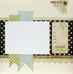 simple stories paper - I can see this with school colors and subjects listed