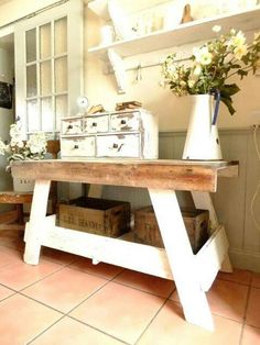 Would be  with barn board or pallet wood on top.