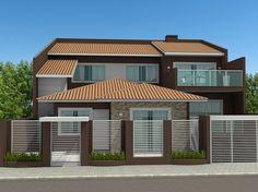 Projeto residencial desenvolvido pela empresa Sólida Engenharia com sede em Imbituva - PR