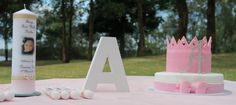 Table setting for naming ceremonies
