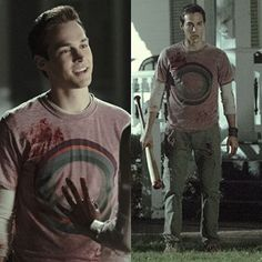 My #teenchoice for #choicetvvillain is @christophrwood as Kai Parker from #TVD