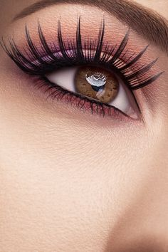 Beauty Eyes by Kristiana Klekmane, via Behance