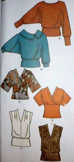 Women's Sewing Pattern Simplicity 4020 Pullover by Sutlerssundries