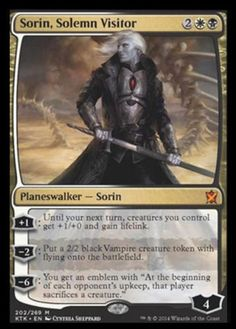Sorin-Solemn-Visitor-x1-Magic-the-Gathering-1x-Khans-of-Tarkir-mtg-mythic-rare