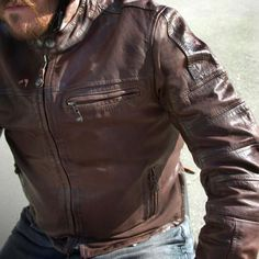 Ronin leather jacket by Roland Sands