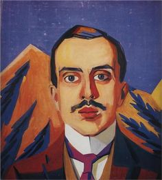 Portrait of I. Shchukin - Martiros Saryan