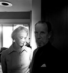 No longer with us, but one of my favorite Hollywood couples -Jessica Tandy & Hume Cronyn