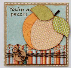 You're a Peach - Just Because Cards Cricut Cartridge