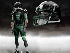 New York Jets Concept Uniform
