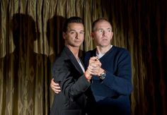 Dave Gahan and Anton Corbijn (the photographer responsible for so many of the great shots of DG).