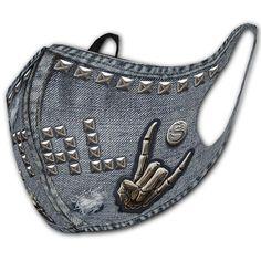 Thrasher, Gothic Mask, Le Pollen, Gel Medium, Protective Mask, Fashion Face Mask, Thrash Metal, Inked Shop, Partner