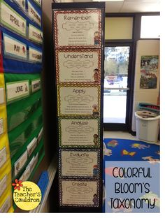 Bloom's Taxonomy using M&M's or Skittles