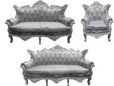 GroB Finde Diesen Pin Und Vieles Mehr Auf Barock Wohnzimmer Garnituren Von Casa  Padrino.