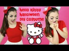 Kitty costume diy craftbnb hello kitty sexy halloween costume halloween costume solutioingenieria Images