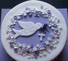 Girls confirmation cake                                                                                                                                                     More