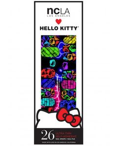 NCLA Mod Hello Kitty Nail Wraps | Dolls Kill