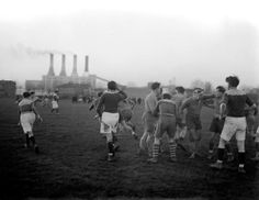 La Collection France Demay s'expose - Match de rugby à Drancy