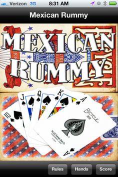 Mexican Rummy App - Rules & Score Board!