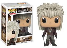 Jareth the Goblin King (played by David Bowie) has been given the Pop! Vinyl treatment with this Jim Henson's Labyrinth Pop! Comes in a displayable window box. Goblin King, Pop Vinyl Figures, David Bowie, Funko Mini, Stranger Things, The Princess Bride, Jim Henson Labyrinth, Chibi, Pokemon