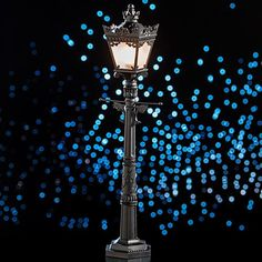 1 ft. 10 in. Mini City Street Lamp for table centerpieces, perhaps!