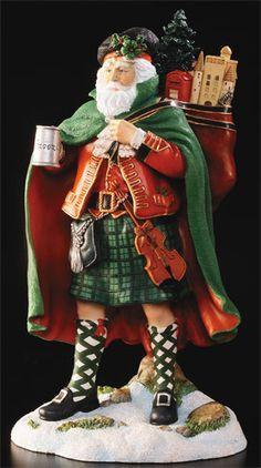 Kilt Wearing Santa...gotta have it!