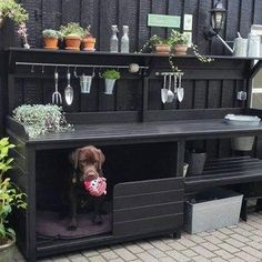 Outdoor Kitchen Ideas - Get inspired by these amazing and innovative outdoor kitchen design ideas Backyard Patio Designs, Backyard Landscaping, Parrilla Exterior, Potting Tables, Outdoor Kitchen Design, Small Outdoor Kitchens, Outdoor Sinks, Outdoor Kitchen Patio, Garden Projects