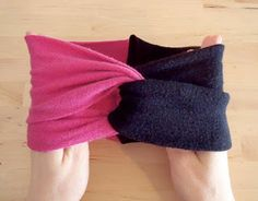 easy diy headband you can make from old tshirts