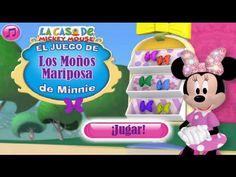 La Casa De Mickey Mouse El juego de Los Moños Mariposa de Minnie en Español Capitulos Completos