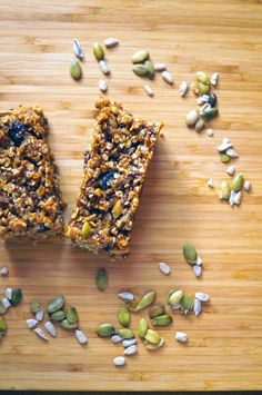Boost your health & save money by making your own Fruit and Seed Bars. I call these the Everything Bar because they are jam-packed with healthful ingredients!