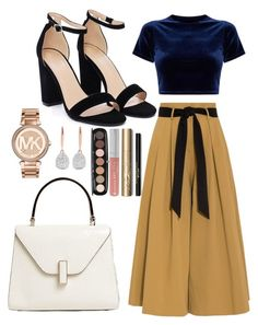 """""""Untitled #427"""" by mayaroger on Polyvore featuring Nasty Gal, Temperley London, Valextra, Michael Kors, Monica Vinader, Marc Jacobs, Forever 21 and Stila"""