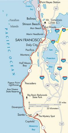 The list is endless, but a few places we should hit: Alcatraz, Muir Woods, Ghirardelli Chocolate Factory, Wine Country for a tasting, Haight/Ashbury