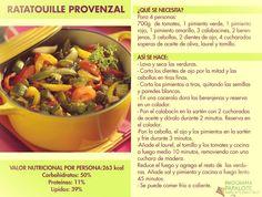 Una receta vegetariana!!