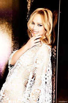Jennifer Lawrence photographed by Ellen von Unwerth, 2013