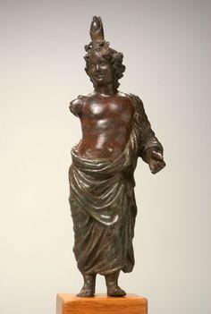 Bronze Statuette of Harpocrates        Egypt, 1st century A.D.              Solid cast