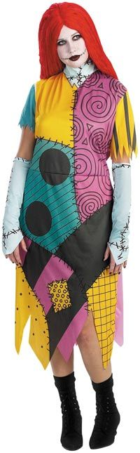 Plus Size Sally Costume - Authentic Nightmare Before Christmas Costumes