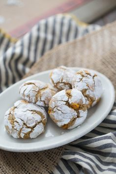 This caramel crinkle cookie recipe is a nice change from the traditional chocolate! They are so easy to make too!