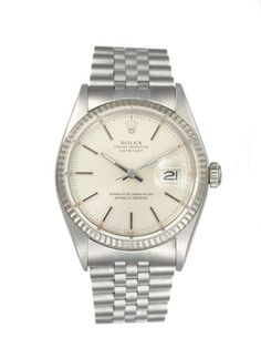 Vintage Rolex Rolex Oyster Perpetual Datejust Stainless Steel Watch