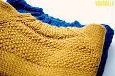 Vaskavulla: Den Snedige Sømand / Sneaky Sailor - opskrift på sweater str. 1-6 år