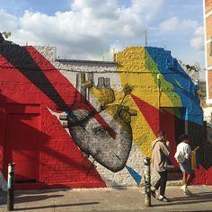 Work by @elianchali and @alexis_diaz by londonstreetart