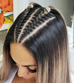 Cornrow hairstyles for black women Braided Hairstyles black Cornrow Hairstyles Women Cool Braid Hairstyles, Baddie Hairstyles, Easy Hairstyles For Long Hair, Braids For Long Hair, Hairstyles Pictures, Athletic Hairstyles, Braid Hairstyles For Long Hair, Latina Hairstyles, Hair Jewelry For Braids