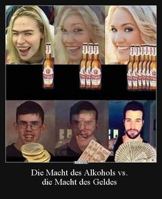 The power of alcohol vs. Funny Adult Memes, Silly Jokes, Adult Humor, Funny Jokes, Hilarious, Really Funny, The Funny, Memes Humor, Image Citation