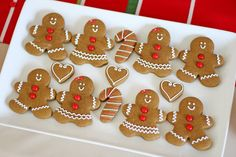 Classic Gingerbread Cookies - by Glorious Treats