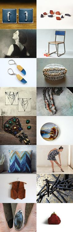 ode to the seahorse by renee and gerardo on Etsy--Pinned with TreasuryPin.com