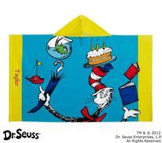 Dr. Seuss™ Cat in the Hat Beach Wrap | Pottery Barn Kids