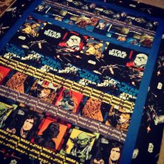 Star Wars Quilt for Joey's 40th Birthday