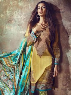 Sana Safinaz Eid Collection 2017 Dresses for Girls