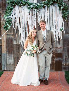 Fun, Laid-Back Farm Wedding: Alli + Bobby