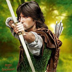 Robin of Sherwood Michael Praed Digital Art