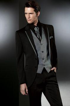 black silver tuxedo - Google Search